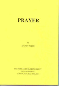 prayer - Stuart Allen